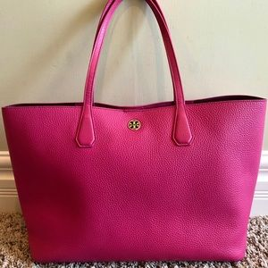 Pink Tory Burch Tote